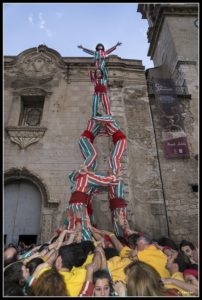 Nova Muixeranga amb els Bordegassos de Vilanova