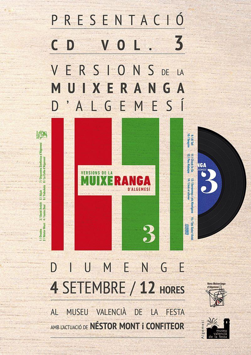Presentació CD Vol.3 Ver. Muixeranga